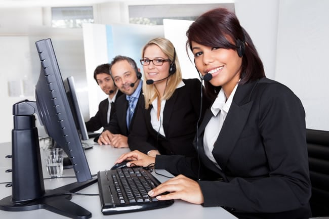 call center employees