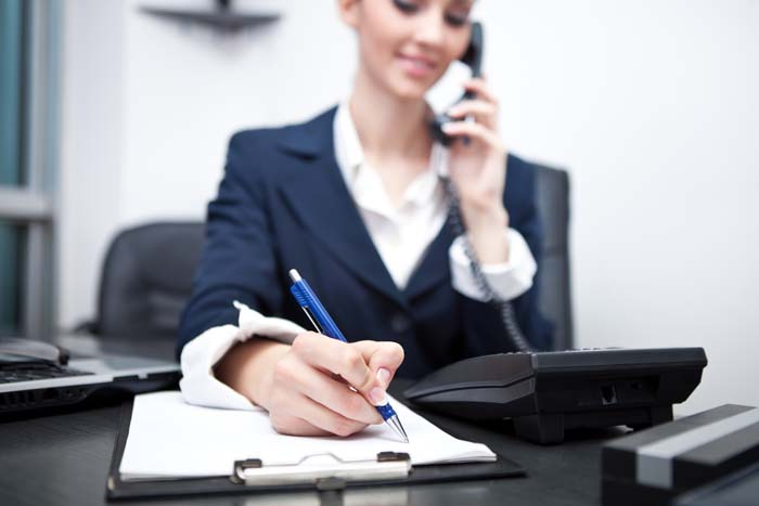 Good Habits for Entrepreneurs Business Woman on Phone