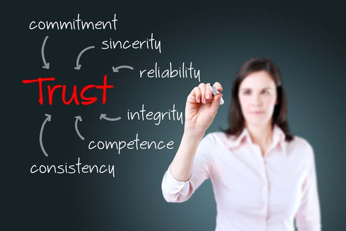 Gain customer trust