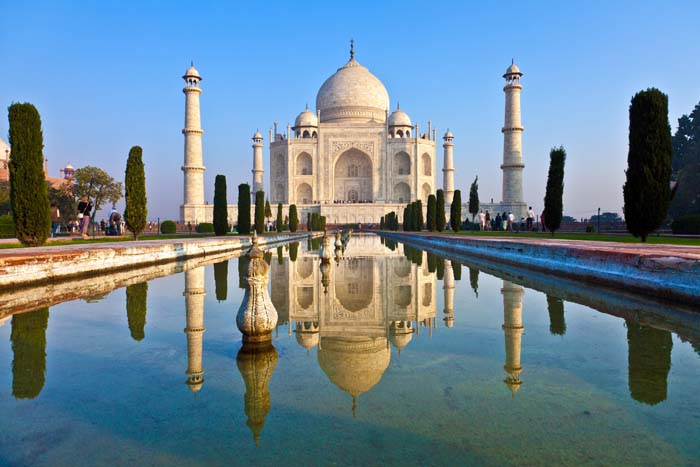 Taj Mahal in India virtual phone numbers