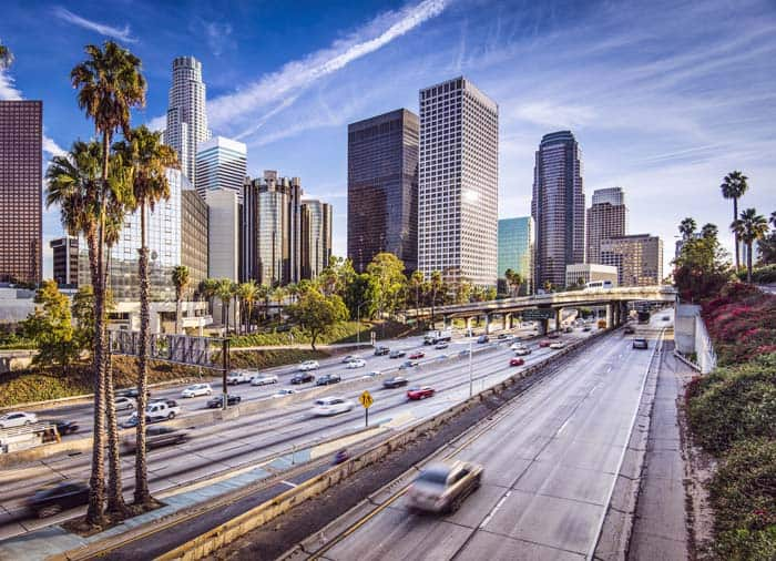 Downtown Los Angeles toll free phone numbers