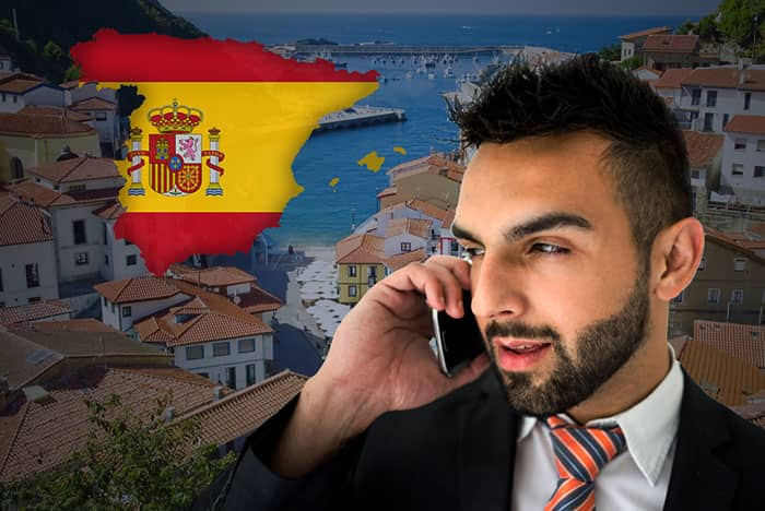 Buy Spain Virtual Phone Numbers