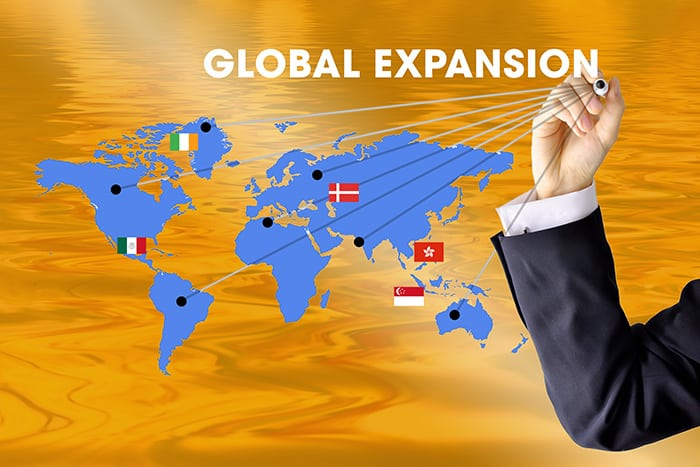 top countries for global expansion